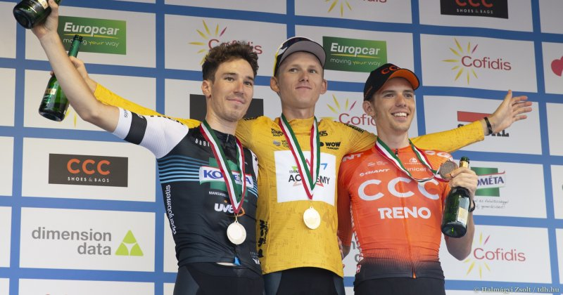 Krists Neilands won Tour de Hongrie