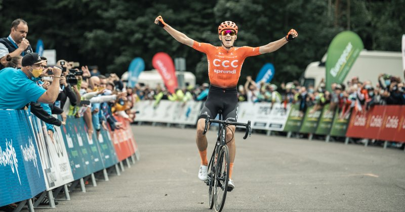 Attila Valter won the Tour de Hongrie!